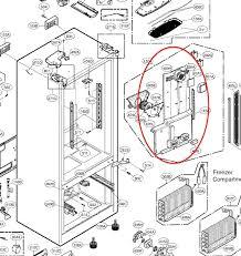 refrigerator fan not working my kenmore elite refrigerator is not the freezer is fine