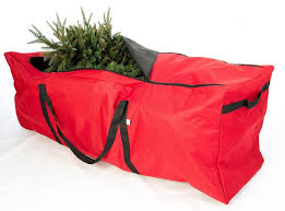 tree storage bags on wheels upright