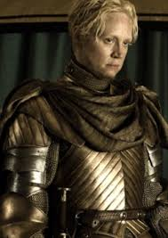 who is the blonde in the game of heroes commercial gwendoline christie talks altering her appearance for game of thrones
