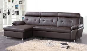 Leather Sofa Beds Uk Sale Brilliant Chic Sofa Bed Leather 15 Modern Homestora In Awesome
