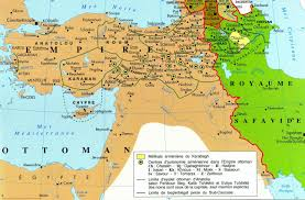 Map Of Ottoman Empire Eastern Section Of The Ottoman Empire And The Safavid Kingdom Of