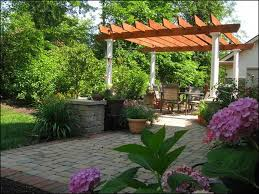 Backyard Patio Landscaping Ideas Patio Ideas On A Budget Designs Houzz Design Ideas Rogersville Us
