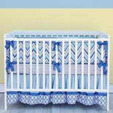 Baby Boy Blue Crib Bedding by New Trend Chevron Crib Bedding Styles All Modern Home Designs