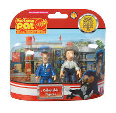 character uk postman pat toys sds 2 figure