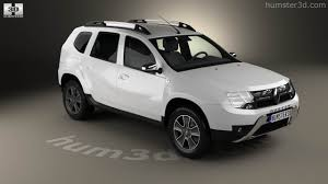 renault duster white 360 view of renault duster cis 2015 3d model hum3d store