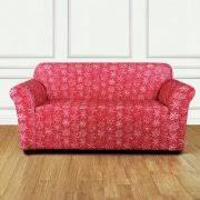 2 Piece T Cushion Loveseat Slipcover T Cushion Loveseat Slipcovers