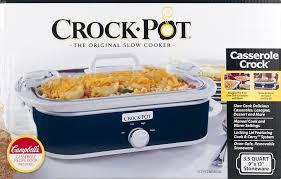 Campbell Kitchen Recipe Ideas by Crock Pot Casserole Crock 3 5 Quart Slow Cooker Walmart Com