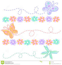 butterfly flower clipart borders free butterfly flower clipart