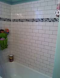 subway tile ideas for bathroom white subway tile tub surround ideas and pictures