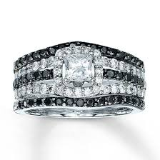 Kay Jewelers Wedding Rings For Her by Kay Jewelers Blue White Diamond Ring 1 3 Carat Tw 10k White Gold
