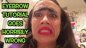 Challenge Miranda Sings Eyebrow Tutorial Goes Horribly Wrong