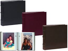 bi directional photo album pioneer photo albums leather bi directional album 4x6 100 photo