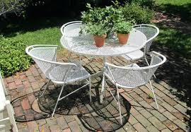 Aluminium Bistro Table And Chairs Patio Ideas Hampton Bay Nantucket Round Metal Outdoor Bistro