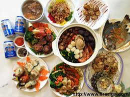 new year dinner recipe lirong a singapore food and lifestyle happy lunar new year