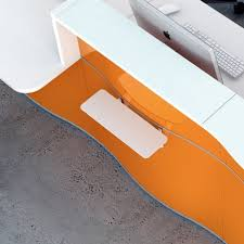 Reception Desk Wave Counter Reception Desk By Mdd Luxemoderndesign Com
