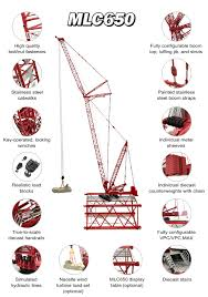 1 50 manitowoc mlc650 crawler crane diecast scale model