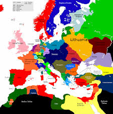 Map Of France And Germany by Europe 1430 1492 1522 Map Game Alternative History Fandom