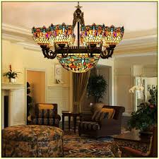 Lowes Chandelier Shades Stained Glass Chandelier Shades Home Design Ideas