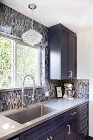 Ferguson Kitchen Faucets Glass Mosaic Wall Tile Laying Patterns Contemporary Kitchen