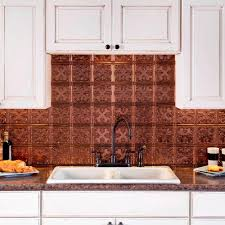 Aluminum Backsplash Kitchen Oil Rubbed Bronze Tile Backsplashes Tile The Home Depot