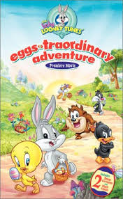 baby looney tunes eggs traordinary adventure vhs
