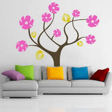 modern childrens bedroom wall stickers ideas inspiration home design colorful abstract tree flowers wall stickers decals for modern modern childrens bedroom wall stickers ideas