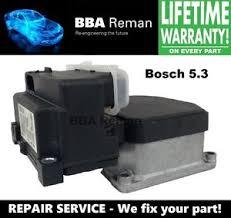 audi abs repair audi bosch 5 3 abs anti lock brake module repair service ebay