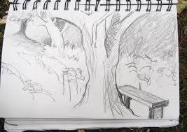leith hill surrey pencil sketch u2013 jenny meehan contemporary