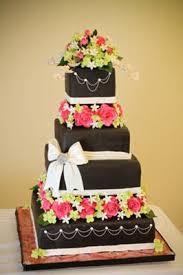 wedding cake gum pink and black wedding cakes http www cake decorating corner