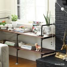 Diy Pipe Desk by Rustic Vintage Mount Bracket Set Industrial Diy Pipe Shelf