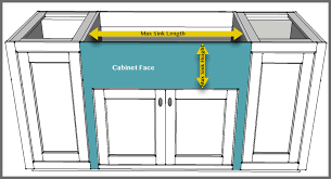 what sizes do sink base cabinets come in how to install a farmhouse sink 6 easy steps updated 2020
