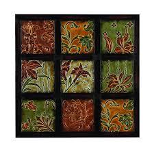 Wayfair Home Decor Found It At Wayfair Ca Nine Tile Floral Wall Décor Wayfait