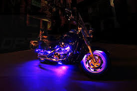 Led Lights For Motorcycle 10pc Aura Motorcycle Led Light Kit Multi Color Accent Glow Neon