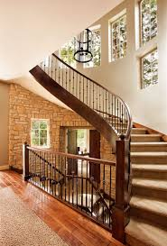 Luxe Home Design Inc Danish Luxe Revival Transitional Staircase Portland By