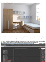 how to create a kids room with 3ds max vertex geometry