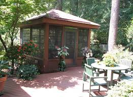 free standing screen porch back porch screen ideas screened in