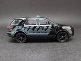 jeep police package diecast hobbist 2013 ford explorer ford police interceptor