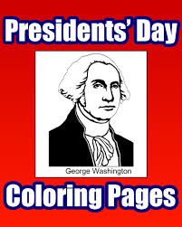 presidents u0027 day coloring pages primarygames play free online games