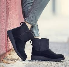 ugg s emalie wedge boots black country attire 28 winter shoes you won t be embarrassed to wear