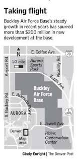 buckley afb map buckley afb s changing landscape a sign of growth for neighbors