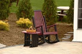 Luxcraft Outdoor Furniture by Luxcraft Grandpa U0027s Poly Rocker From Dutchcrafters Amish Furniture