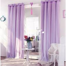 Lavender Blackout Curtains by Double Layer Blackout Curtain