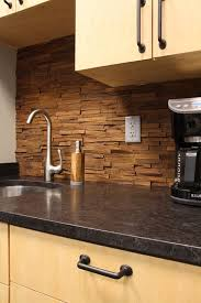 wood backsplash kitchen 7 best wood backsplash images on kitchen backsplash