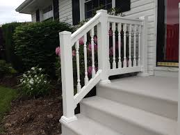 stair railing kits outdoor look attractive exterior stair