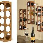 kitchen wall hanging wine rack decor decorative mounted furniture