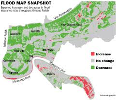 Zip Code Map New Orleans by Will Flood Insurance Rates Go Down With The New Flood Maps