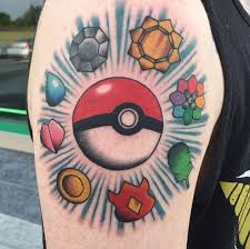 21 pokémon tattoos that are cooler than you u0027ll ever be