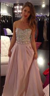 pink and gold prom dress fashion dresses