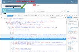 Telegram Web C Telegram Web Click Invoke Method Stack Overflow