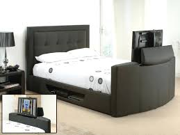 Bed Frame With Tv Built In Tv Beds Frame O2drops Co